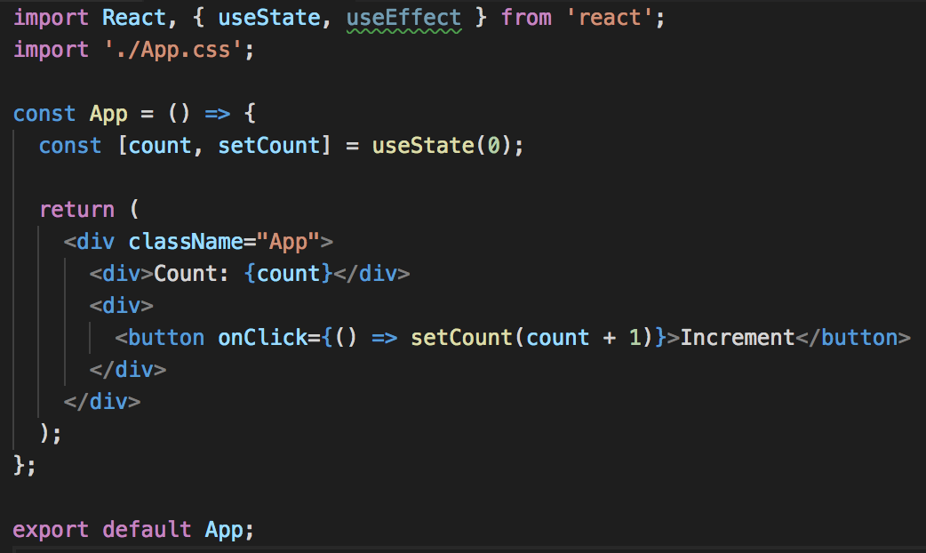 Getting started with React Hooks by building a counter with useState