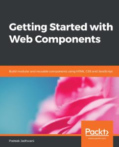 Getting Started with Web Components Packt book cover