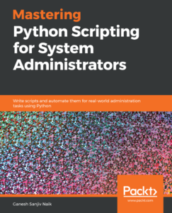 Mastering Python Scripting for System Administrators cover image